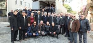 Burhaniyeliler Halep için seferber oldu.