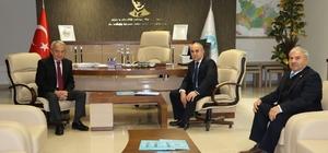 Genel Müdür Coşkun, Gördes Belediye Başkanı'nı ağırladı