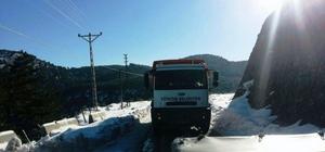 Yüreğir Belediyesi'nden Aladağ'a yardım