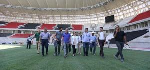 Büyükşehir'den yeni stadyumun inşasına destek