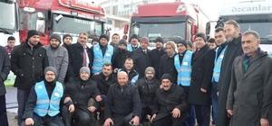 Ardahan Diyanetten Halep'e yardım eli