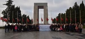 Binlerce Yunusemreli Çanakkale ruhunu yaşadı