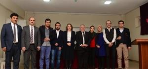Başkan Mahçiçek, gazeteci adaylarıyla buluştu