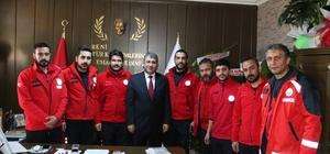 UMKE Malatya ve Elazığ ekibi, Dr. Happani'yi ziyaret etti