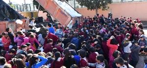 Başkan Çetin'den öğrencilere kar sürprizi