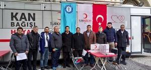 Sağlık-Sen İzmir 2 No'lu şubeden kan bağışı