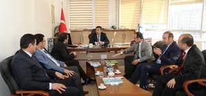 VASKİ Genel Müdürü Gezgen'e ziyaret