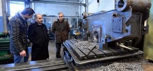 Vali Aktaş'tan sanayi sitelerine ziyaret