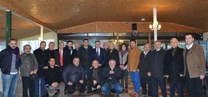 Başkan Erener basın mensupları ile kahvaltıda bir araya geldi