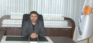 AK Parti Afşin İlçe Başkanı Şeref Kırbıyık istifa etti