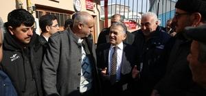 Başkan Büyükkılıç ve ekibi Küçük Mustafa Mahallesi'nde
