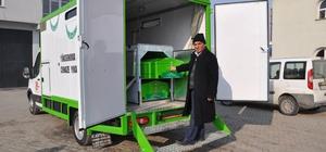 TBB'den Yüksekova Belediyesine cenaze aracı
