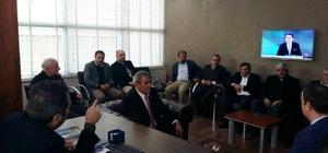 Birecik'te organize sanayi bölgesi için toplantı düzenlendi