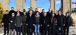 Uşak Valisi Ahmet Okur basın mensuplarıyla bir araya geldi