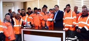 Başkan Yazgı, karla mücadelede ekibine teşekkür etti