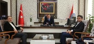 Başkan Sarıoğlu, İl Emniyet Müdürü Uzunkaya'yı ziyaret etti