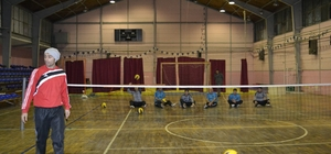 Oturarak Voleybol Ligi'nin ikinci etabı Alaplı'da yapılacak