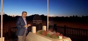 Başkan Alıcık Rauf Denktaş'ı 5. ölüm yıl dönümünde andı