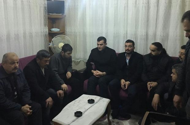 Aydın MHP gazi Sami Güler'i ziyaret etti