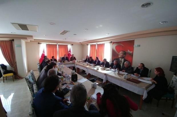 İlçe Milli Eğitim Müdürleri Toplantısı Tarsus'ta yapıldı