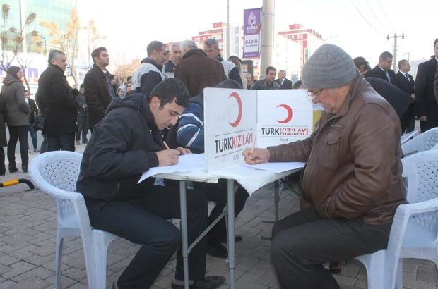 Mardinlilerden kan bağışına yoğun ilgi