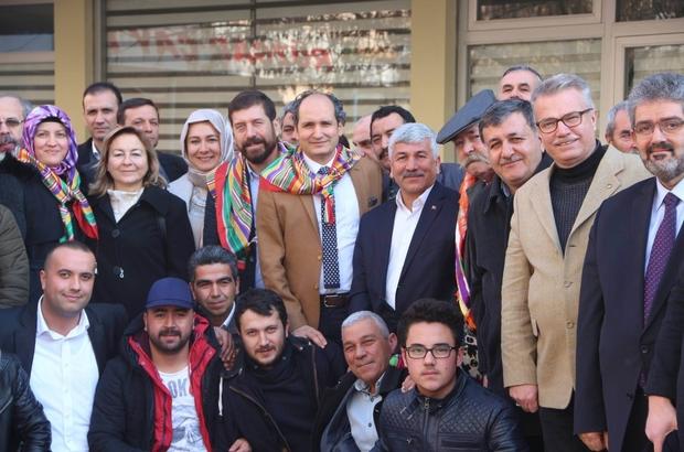 Başkan Demiraslan'dan Sındırgı'ya ziyaret