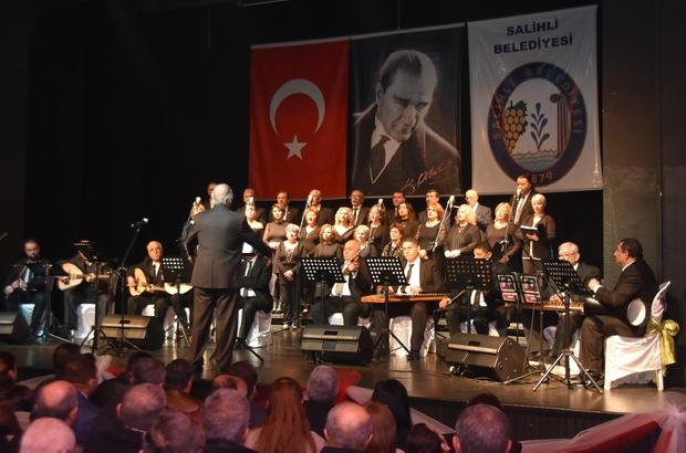 Salihli'de unutulmaz Türk Sanat Müziği konseri