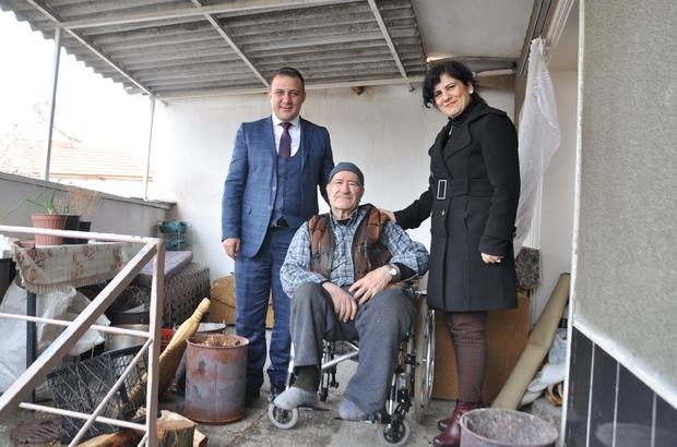 Salihli Belediyesi bir engelliyi daha sevindirdi