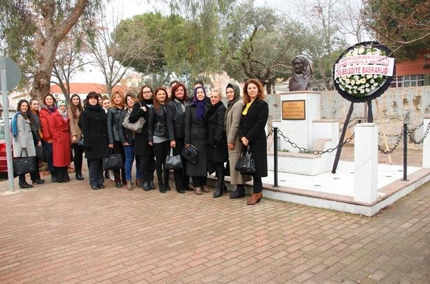 Ödemiş Belediyesi Zübeyde Hanım'ı unutmadı