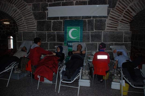 Yeşilay'dan kan bağışı kampanyası