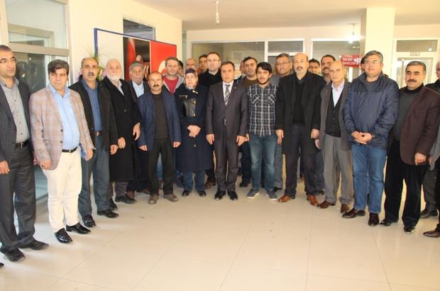 AK Parti Kahta Teşkilatı Başkanvekili Ahmet Aydın'a sahip çıktı
