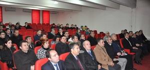 """Bulanık'ta öğretmenlere """"Etik davranış ilkeleri"""" semineri verildi"""