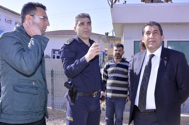 Başkan Atilla, Polis Kontrol Noktasını Ziyaret Etti