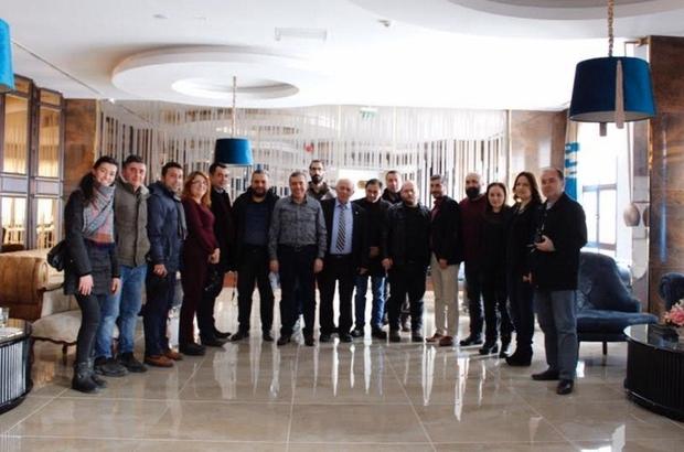 Baro Başkanı Ahmet Atam, basın mensuplarıyla bir araya geldi