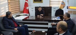 Bolu Belediye Başkanından Hizan'a ziyaret