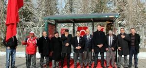 Harp Malulü Gaziler, Şehit Dul ve Yetimleri Derneği Kastamonu Şubesi yönetimi 'şehitler durağını' ziyaret etti