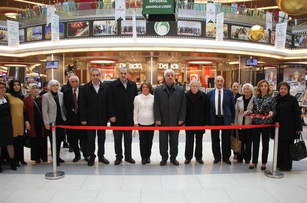 AVM'de Kağıt Rölyef Atölye sergisi açıldı