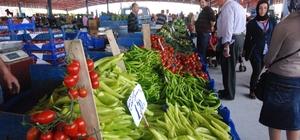 Melikgazi'de Semt Pazarlarında Donmuş Meyve ve Sebze Denetimi