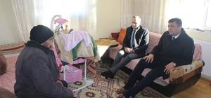 Selim kaymakamından ev ziyaretleri