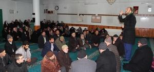 Elazığ'da umreye gideceklere seminer verildi