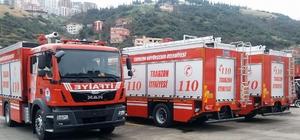 Büyükşehir'den itfaiyeye modern araç takviyesi