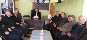 AK Parti Tut İlçe Başkanlığından TBMM Başkan Vekili Aydın'a destek