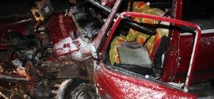 Tekirdağ'da trafik kazası;  1 Yaralı