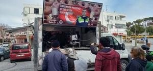 Motorcular, Şehit Polis Fethi Sekin için lokma döktürdü
