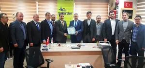 ŞEHİRDER, Arap iş adamlarına Erzurum'u anlattı