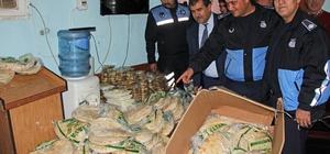 Kozan'da kaçak ekmek ve tatlı operasyonu