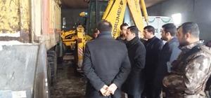 Başkan Vekili Uzan, araç parkında inceleme yaptı