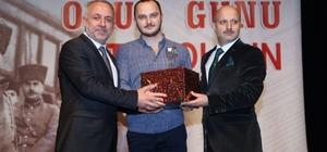 16 Ocak Basın Onur Günü'nde İHA muhabiri ödülü aldı
