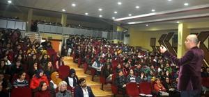 Alanya'da lise son öğrencilerine sınav kaygısı söyleşisi