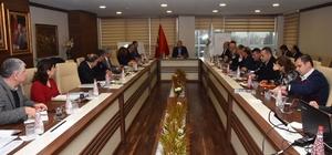 Düzce Belediyesinde Koordinasyon Toplantısı